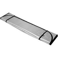 Шторка солнцезащитная на лобовое стекло 130х60см