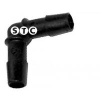 Фитинг соединения шлангов Г-образный D=19-19mm пла
